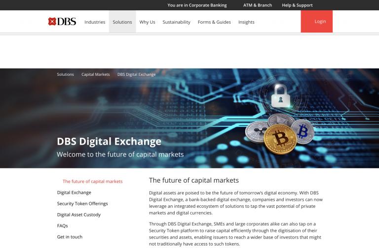 星展銀行疑推加密貨幣交易所?首波提供BTC、ETH、XRP、BCH交易